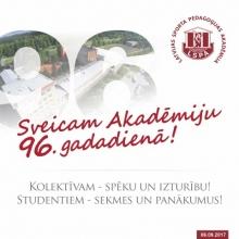 6.SEPTEMBRIS - LSPA 96.GADADIENA. STUDENTIEM NODARBĪBAS NENOTIEK